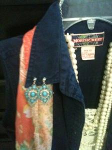 Western Inspired Turquiose Earrings