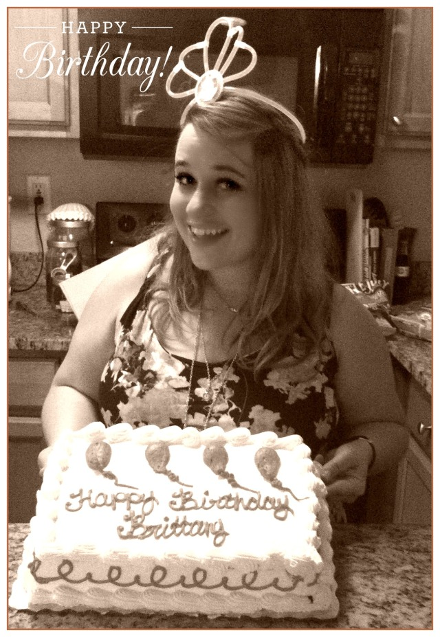 I got a whole Publix cake too, was so so delicious.