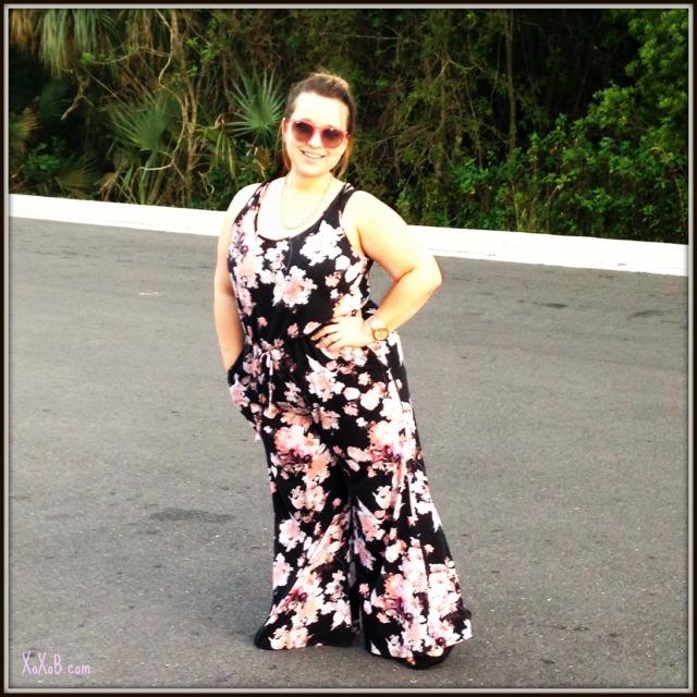 Floral Jumpsuit: Target.com $27