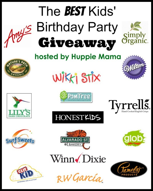 Huppie Mama's Birthday Party Giveaway