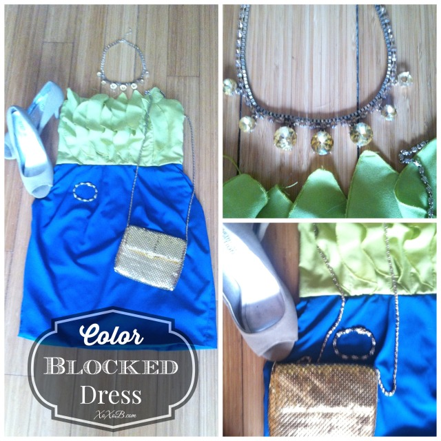 colorblockeddress