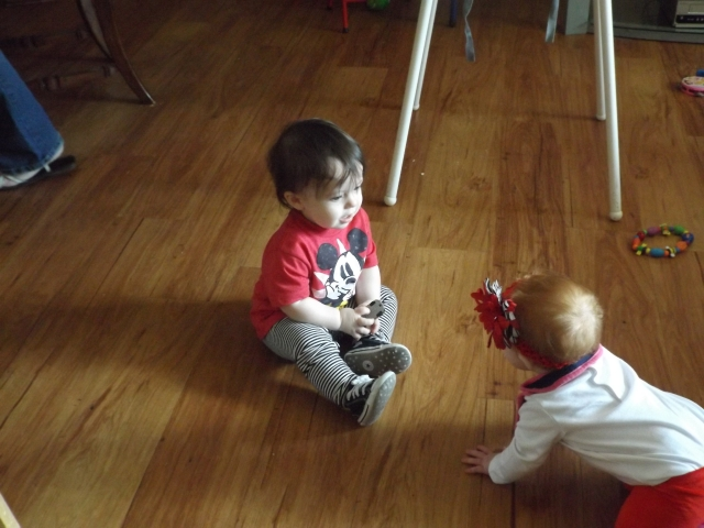 Cash and cousin Marley!
